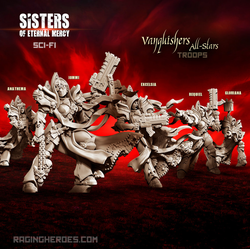Sisters of Eternal Mercy: Vanquishers All-Stars - Troop