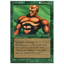 Magic löskort: Chronicles: Craw Giant