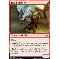 Magic löskort: Guilds of Ravnica: Torch Courier