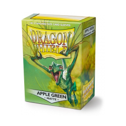 Card Sleeves Standard Matte Apple Green (100 in box) (Dragon Shield)