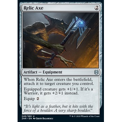 Magic löskort: Zendikar Rising: Relic Axe
