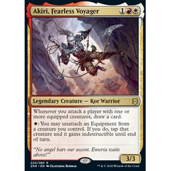 Magic löskort: Zendikar Rising: Akiri, Fearless Voyager
