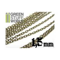 Green Stuff World -  Hobby chain 1.5 mm (metall)
