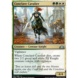 Magic löskort: Guilds of Ravnica: Conclave Cavalier