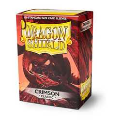 Card Sleeves Standard Crimson (100 in box) (Dragon Shield)