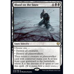 Magic löskort: Kaldheim: Blood on the Snow