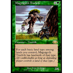 Magic löskort: Planeshift: Magnigoth Treefolk
