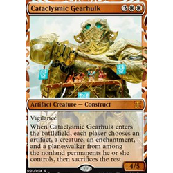 Magic löskort: Kaladesh Inventions: Cataclysmic Gearhulk