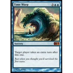 Magic löskort: M10: Time Warp (Foil)