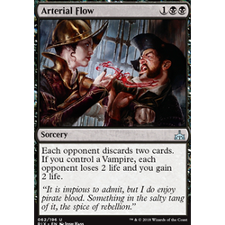 Magic löskort: Rivals of Ixalan: Arterial Flow