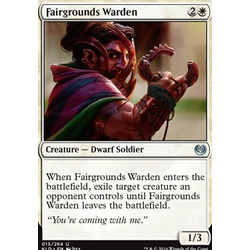 Magic löskort: Kaladesh: Fairgrounds Warden