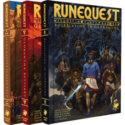 RuneQuest: Roleplaying in Glorantha (slipcase)