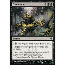 Magic löskort: New Phyrexia: Dismember