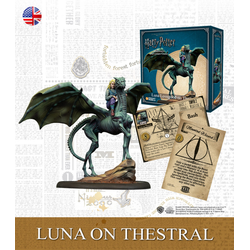 Harry Potter Adventure Game: Luna on Thestral