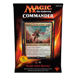 Magic The Gathering: Commander Deck 2015 Wade into Battle