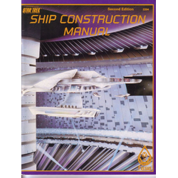 Star Trek RPG: Ship Construction Manual (2nd Ed, 1985)