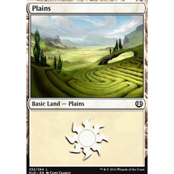 Magic löskort: Kaladesh: Plains (foil)