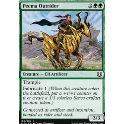 Magic löskort: Kaladesh: Peema Outrider (foil)