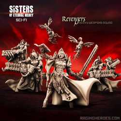 Sisters of Eternal Mercy: Revengers, Heavy Weapons Squad