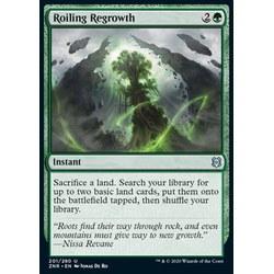 Magic löskort: Zendikar Rising: Roiling Regrowth