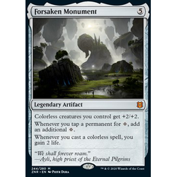 Magic löskort: Zendikar Rising: Forsaken Monument