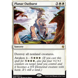 Magic löskort: Battle for Zendikar: Planar Outburst