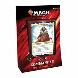 Magic The Gathering: Commander Deck 2019 - Mystic Intellect (Spanska)