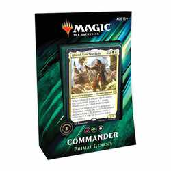 Magic The Gathering: Commander Deck 2019 - Primal Genesis (engelska)