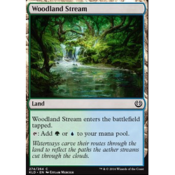 Magic löskort: Kaladesh: Woodland Stream
