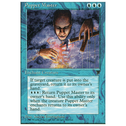 Magic löskort: Chronicles: Puppet Master