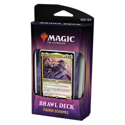 Magic The Gathering: Throne of Eldraine Brawl Deck - Faerie Schemes
