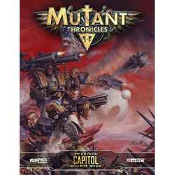 Mutant Chronicles RPG (3rd ed): Capitol Source Book (3rd ed)