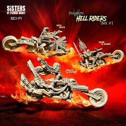 Sisters of Eternal Mercy: Hell Riders Daughters Box 1