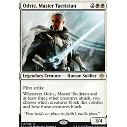Magic löskort: Archenemy: Nicol Bolas: Odric, Master Tactician