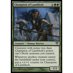 Magic löskort: Avacyn Restored: Champion of Lambholt