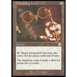 Magic löskort: Mercadian Masques: Distorting Lens
