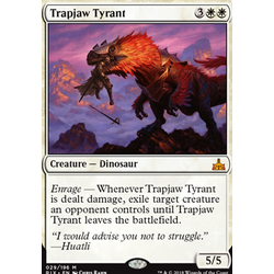 Magic löskort: Rivals of Ixalan: Trapjaw Tyrant