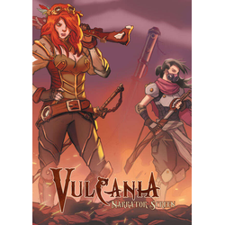 Vulcania RPG: Narrator Screen