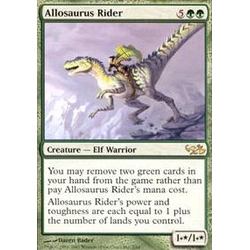 Magic löskort: Duel Decks: Elves vs Goblins: Allosaurus Rider