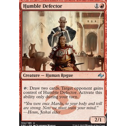 Magic löskort: Fate Reforged: Humble Defector