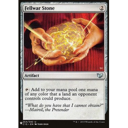 Magic löskort: The List: Fellwar Stone