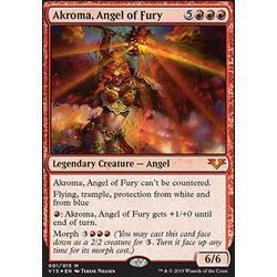 Magic löskort: Angels: Akroma, Angel of Fury