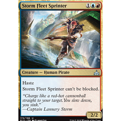 Magic löskort: Rivals of Ixalan: Storm Fleet Sprinter