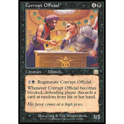 Magic löskort: Mercadian Masques: Corrupt Official