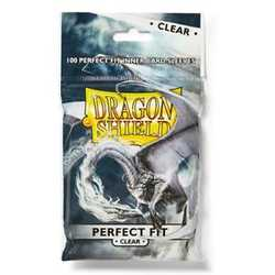 Card Sleeves Perfect Fit Clear (100) (Dragon Shield)