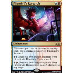 Magic löskort: Guilds of Ravnica: Firemind's Research