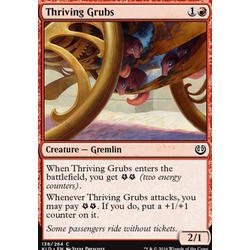 Magic löskort: Kaladesh: Thriving Grubs (foil)