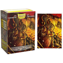 "Card Sleeves Standard Art ""General Vicar: Portrait"" 63x88mm (100 in box) (Dragon Shield)"