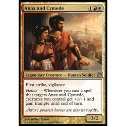 Magic löskort: Theros: Anax and Cymede