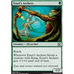 Magic löskort: Duel Decks: Elves vs Inventors: Ezuri's Archers